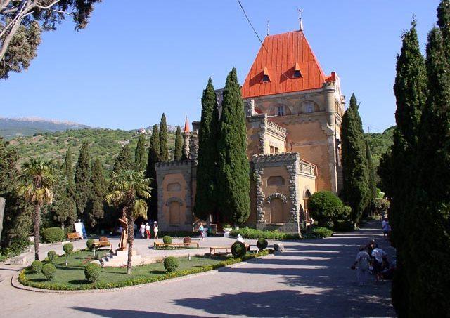 Дворец Княгини Гагариной в Утесе, Алушта