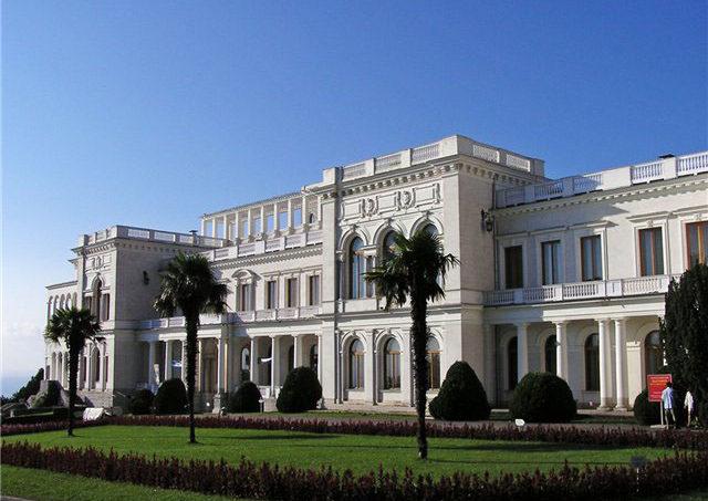 Ливадийский дворец в Ялте. Крым