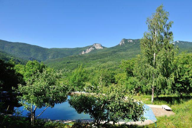 Дом в горах, лесу Многоречье, Бахчисарай, Крым