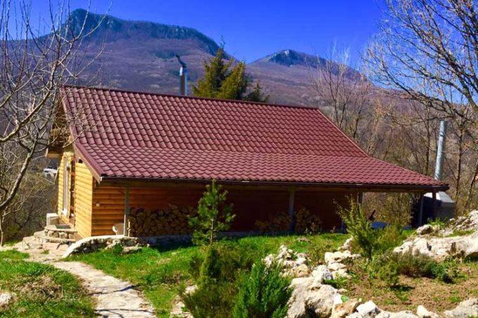 LOT — 080 Коттедж 1 комн. в горах, лесу Многоречье, Бахчисарай, Крым