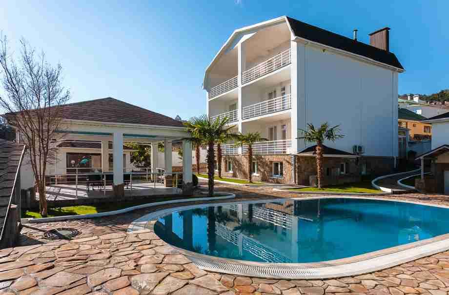 снять Дом в Ливадии с бассейном 8-978-740-87-75. 067