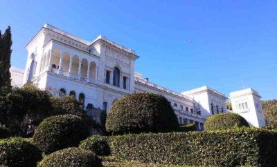 Ливадийский дворец в Ливадии. Ялта. Крым