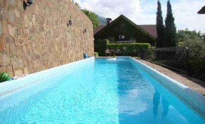 020. Дом с подогреваемым бассейном в Ялте